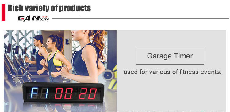 "[GANXIN]4"" Customized Promotion 4 inch 4 Digits led GPS LAP TIMER"