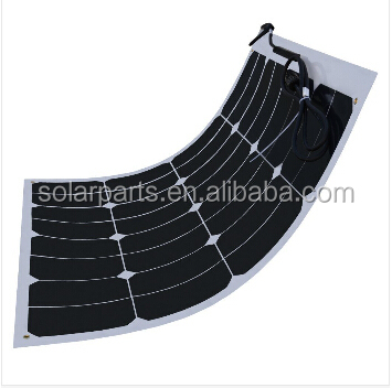 High Quality Solar PV Module 100w flexible Solar Panel for solar power system