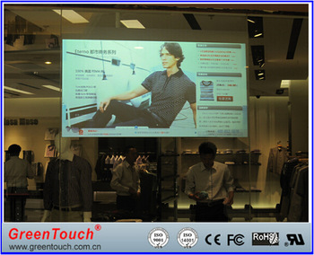 GreenTouch 55inch Clear touch foil/ film for Windows <strong>10</strong>/Android/ Ubuntu 14.04.2