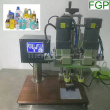 Bath cream capping machine/shower gel capping machine/body wash capping machine made in China factory price
