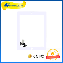 White Color Half Assembly LCD Digiitzer for iPad 2 LCD Screen Half Assembly for iPad 2