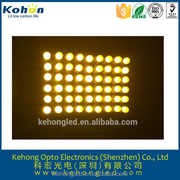 Super yellow RGB led module 6x9 P10 outdoor led display module