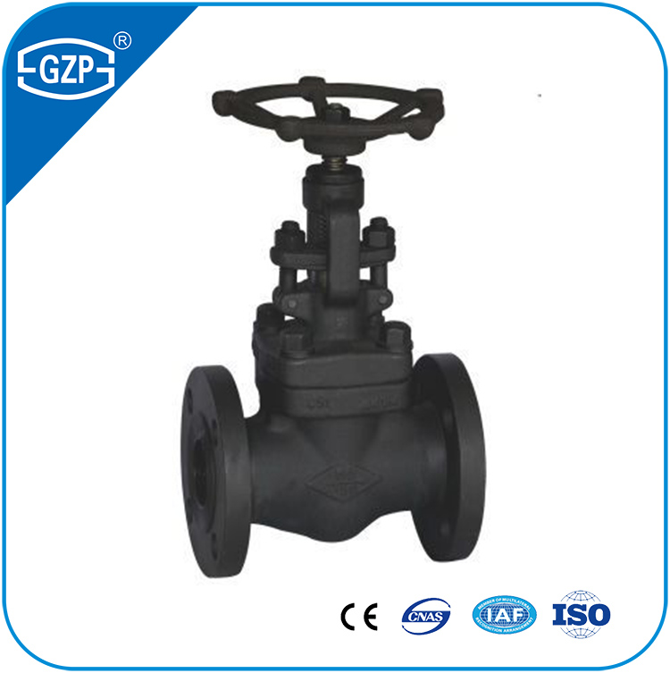 Forged steel rising stem Flanged RF150LB 6 INCH DN150 Gate Valve