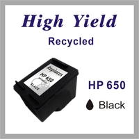 Re-manufactured Ink jet Cartridge for HP 650 Black / Color