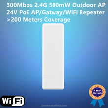 150Mbps 1000mW Qualcomm WLAN bridge, Support PoE, 2KM wireless wifi extender and wireless repeater bridge