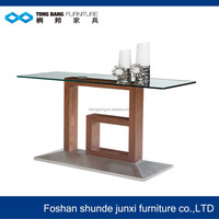 TB metal glass entry tables living room furniture