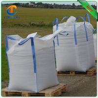 Sand use cross corner FIBC bulk bags with heavy duty, Eco-friendly polypropylene jumbo bag 1000kg