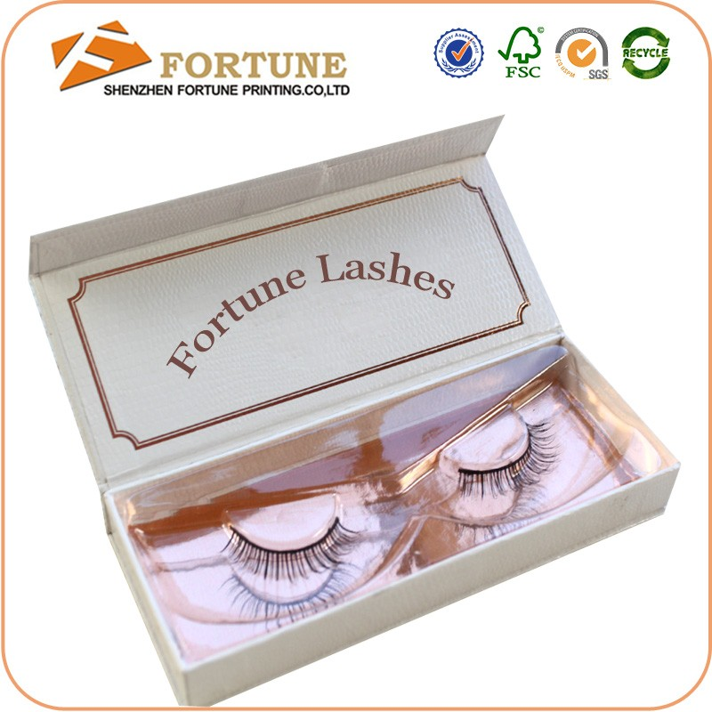 custome private label eyelash packaging box