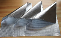 Heat sealing aluminum foil facing on rock wool ,glass wool ,mineral wool for duct wrap