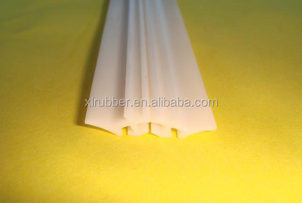 extruded silicone sponge seal strip,rubber seal