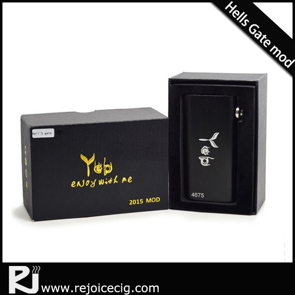 Hot new products!!Dual coil atomizer rda hells gate box mod in stock