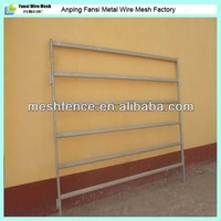 metal pipe live cattle/horse hurdle fencing panel(exporter/manufacturer/factory)