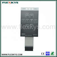 Factory supply membrane switch keyboard with foil