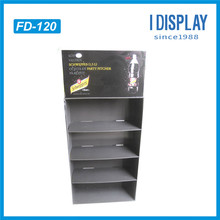 Custom High Quality Floor Display Mineral Water Shelf Cardboard Paper Corrugated Display Stand For Water
