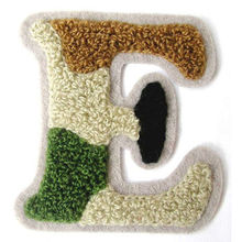 high quality custom embroidery varsity chenille letter patches for varsity jackets