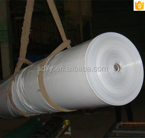 trade assurance Three layers co-extrusion white and black polyethylene films