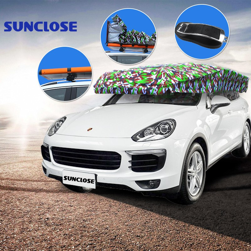 SUNCLOSE nonwoven peva fabric for car car parking sensor system front camera uv protection sun visor cap
