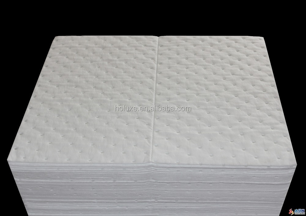 water treatment equipment oil absorption mat/oil absorbent pad
