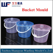 OEM plastic thin wall bucket injection mold/plastic thin wall water bucket mould factory