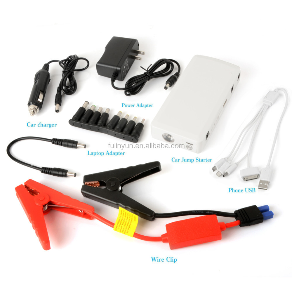 Jump Starter, 12000mAh Multi-Function Car Battery Charger Emergency Power Source Portable Power