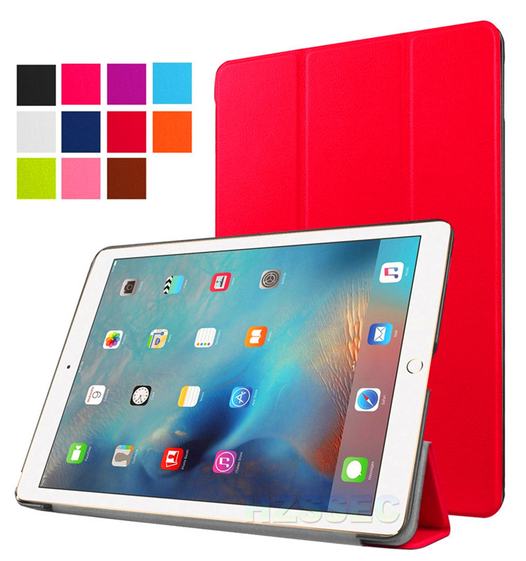 Ultra-thin flip case cover tablet cases with function of dormancy for ipad pro 9.7