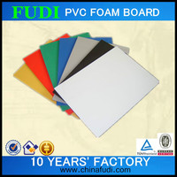 2016 colored high density pvc sheet, sheets in plastic and hard