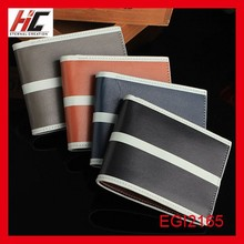 Factory direct wholesale new long bi-fold wallets leather wallet men casual money clip wallet