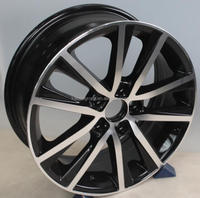 5x100 replica car wheel rim /alloy wheel