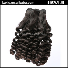 No Harsh Chemical Processing Health micro fiber hair extensions