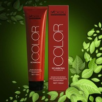 2014 New product italian hair color brands professional herbal 3D hair dye color cream 100ml