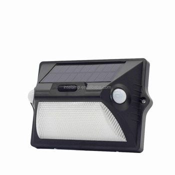Hot!!! 2018 wholesale beautiful 140 Lumens Solar Wall Lights LED outdoor In-ground Lights 12 LED Solar Outdoor Lamp
