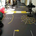 CE / SGS Approved 360 Fitness training Functional Gym Flooring