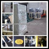 2 4HP Tecumseh piston compressor condensing unit with 280CFM 508PSI 120HP 8m3 35bar 88kw