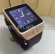 Hot Sell U8 Wrist Watch Smart Watch Dz09 Phone Smart With Sim 2.0mp Camera Bt4.1
