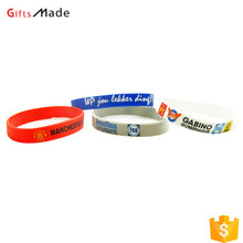 wholesale custom bulk cheap silicone wristbands/printed rubber bands