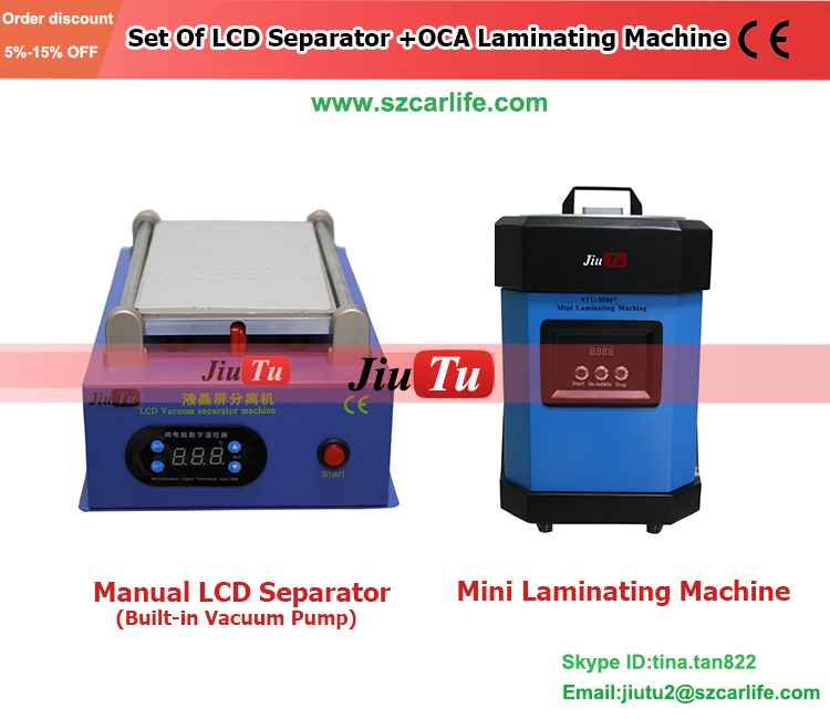 Automatic OCA Vacuum Phone Repair Machine And Laminated Glass Production Line For Cellphone Screen LCD Refurbishment