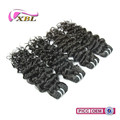 XBL hair new arrival top quality 100 % brazilian jerry curl hair weave