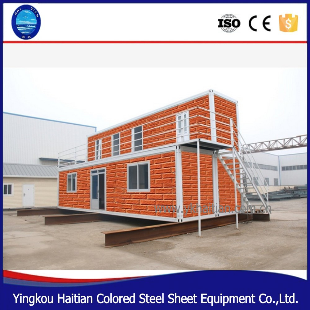 simple modern prefab cheap low cost prefabricated house in