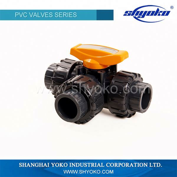Best Selling Competitive Price Pvc/Upvc 3pc ball valve
