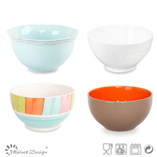 All kinds stoneware footed bowl with lids,white porcelain rice bowl,wholesale ceramic soup / cereal / salad bowls set