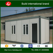 Low cost modern easy assembled small prefab cabin contianer house