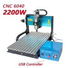 Mingda 3d cnc engraving machine with USB 4-Axis 6040 2200w used cnc router wood carving machine for sale