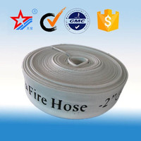 synthetic rubber or PVC lined fire hose with coupling,fire sprinkler system from sanxing manufacturer