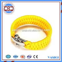 High quality custom survival paracord bracelets with your logo wholesale