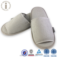 Hotel Winter Indoor Terry Towel Disposable Slippers Shoes