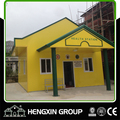 Color steel sheet sandwich panel prefab house in Philippines