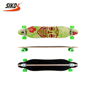 41*9.5inch freestyle Longboard custom longboard maple longboard china factory