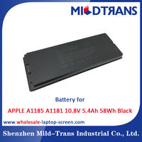 Mildtrans Factory price Replacement Laptop Battery for APPLE A1185 A1181 10.8V 5.4Ah 58Wh Black