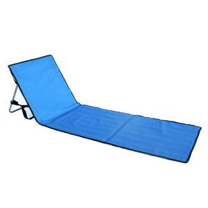 portable personalized commercial  Kids beach chair without arms outdoor leisure lounge camping folding chair mat