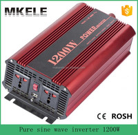 MKP1200-121R 1200 watt power inverter 12v to 110v portable inverters,12v power electric power converter